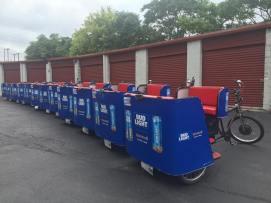 Lyft & Bud Light at Lollapalooza – Chicago Pedicab Company